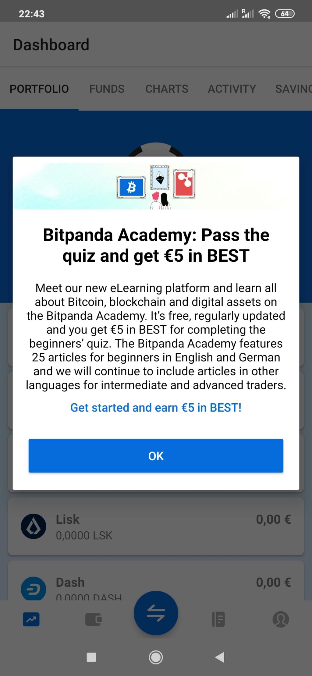 Bitpanda nowy wallet crypto 10 euro za transakcje + airdrop - Page 3 Screen10
