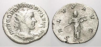 "Antoninien de Gordien III ""inclassable"" (pour moi !) 05075q10"