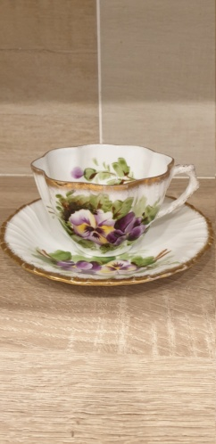Help China Cup and Saucer  20200113