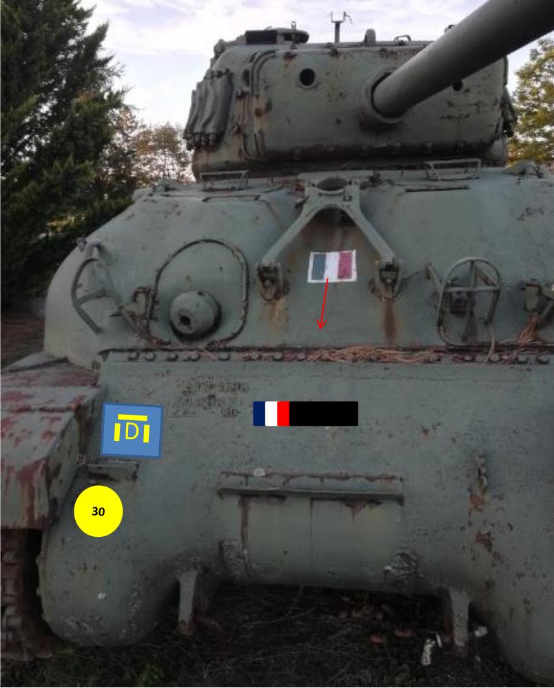 Taille et position des marquages d'un Sherman de la 2ème DB  Photo_10