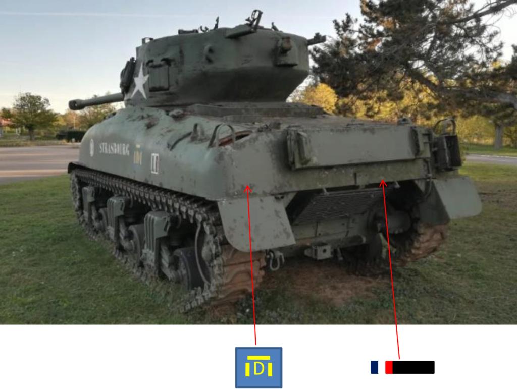 Taille et position des marquages d'un Sherman de la 2ème DB  Photo_11