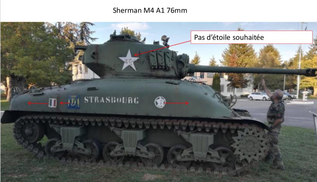 Taille et position des marquages d'un Sherman de la 2ème DB  Photo_13