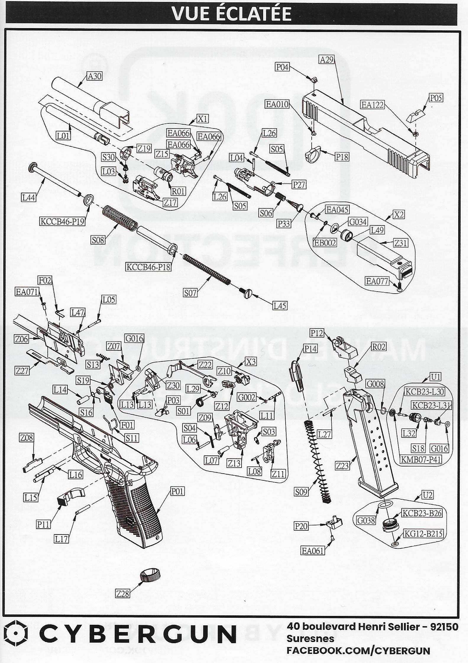 mon glock 17 gen4 umarex  Cyberg10