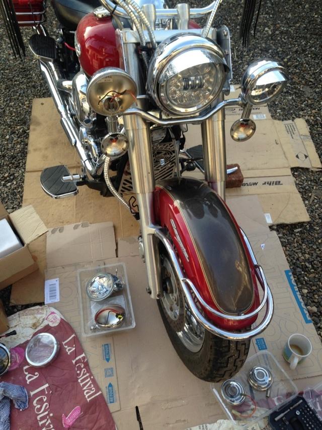 YAMAHA - Feu arrière Led Dragstar Classic/que & Royal Star Ancien15