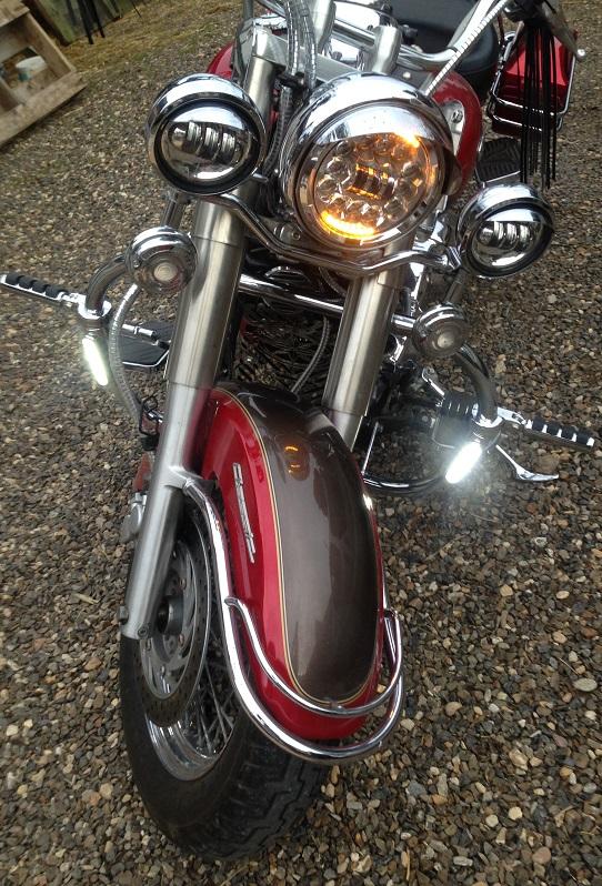 YAMAHA - Feu arrière Led Dragstar Classic/que & Royal Star Bar9510
