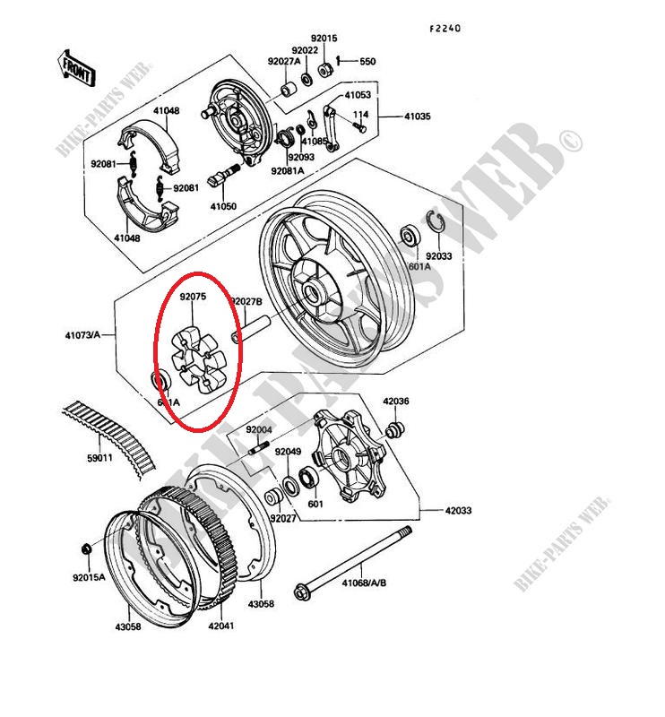 450 EN LTD - Bruit desagreable en frein moteur Roue-a10