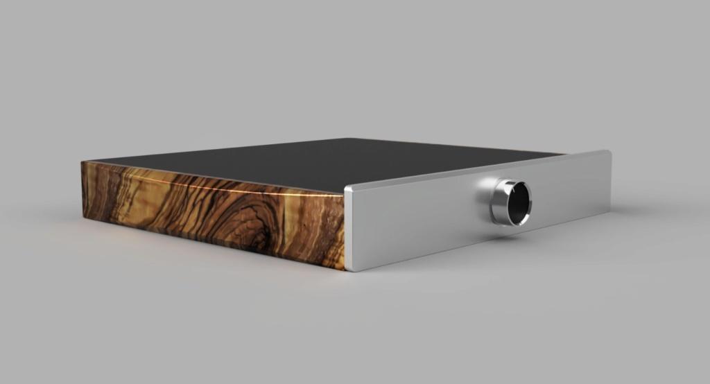 Laterales de madera para amplificador Ada70a10