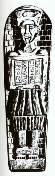 Misteriosa Estatueta Negra Sobre136