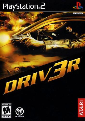 Driver 3 - PS2 - Todos os Códigos Sobre140