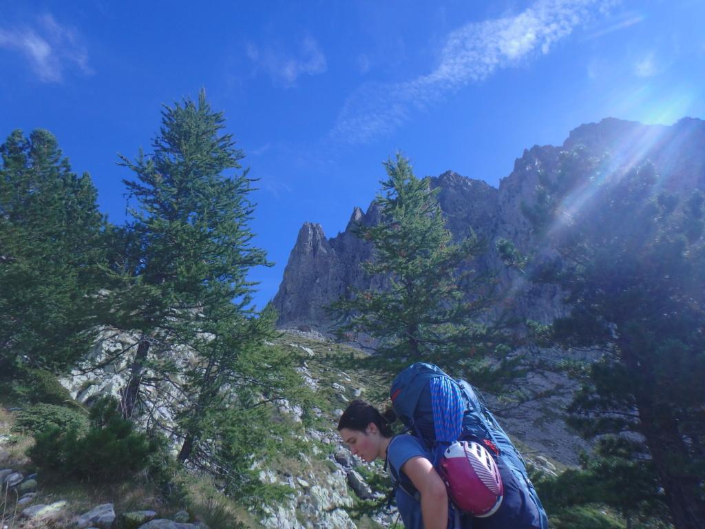 Val Gesso chapitre 1 : Eperon W au Cayre des Erps P8180410