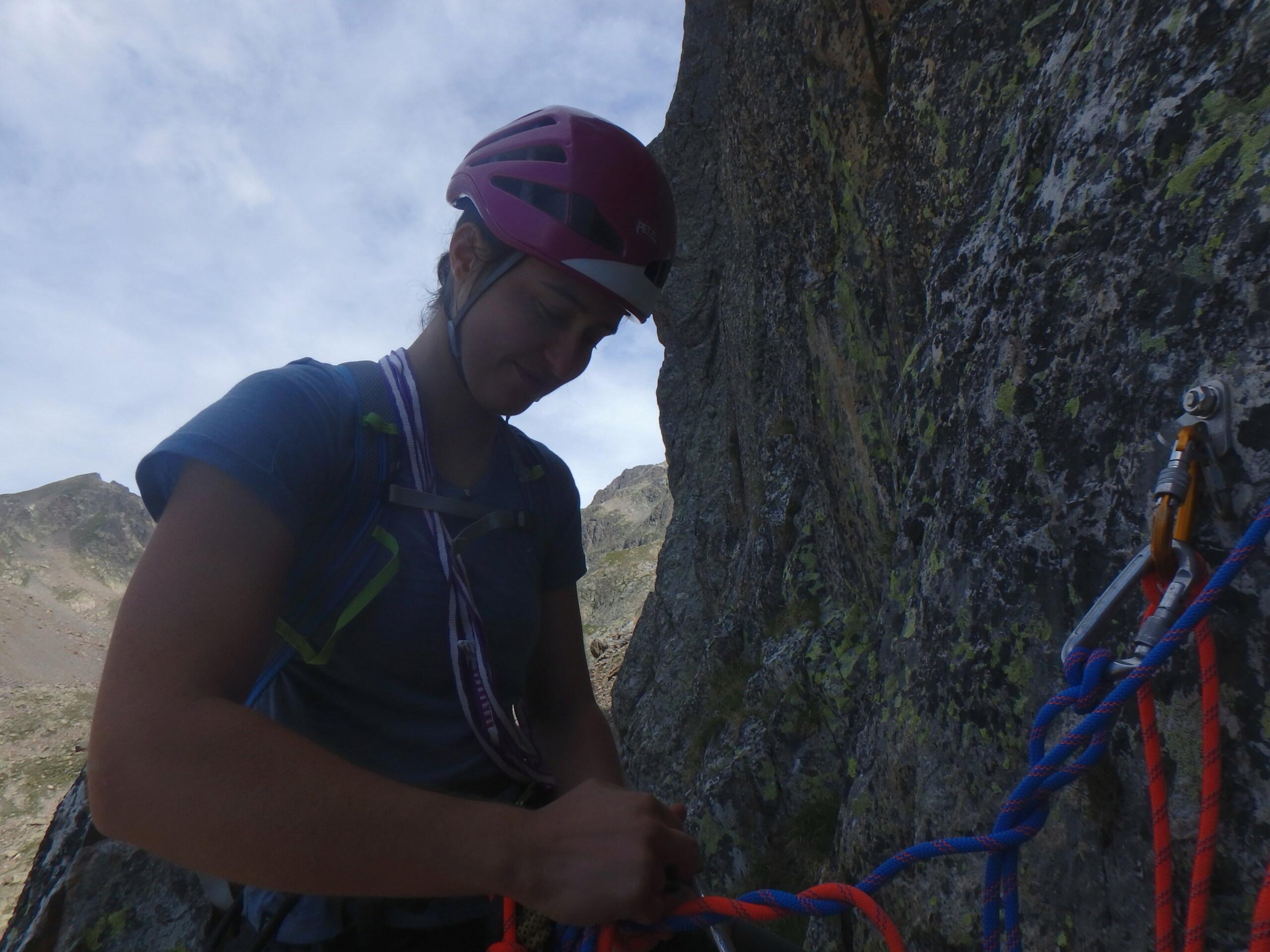 Val Gesso chapitre 1 : Eperon W au Cayre des Erps P8180412