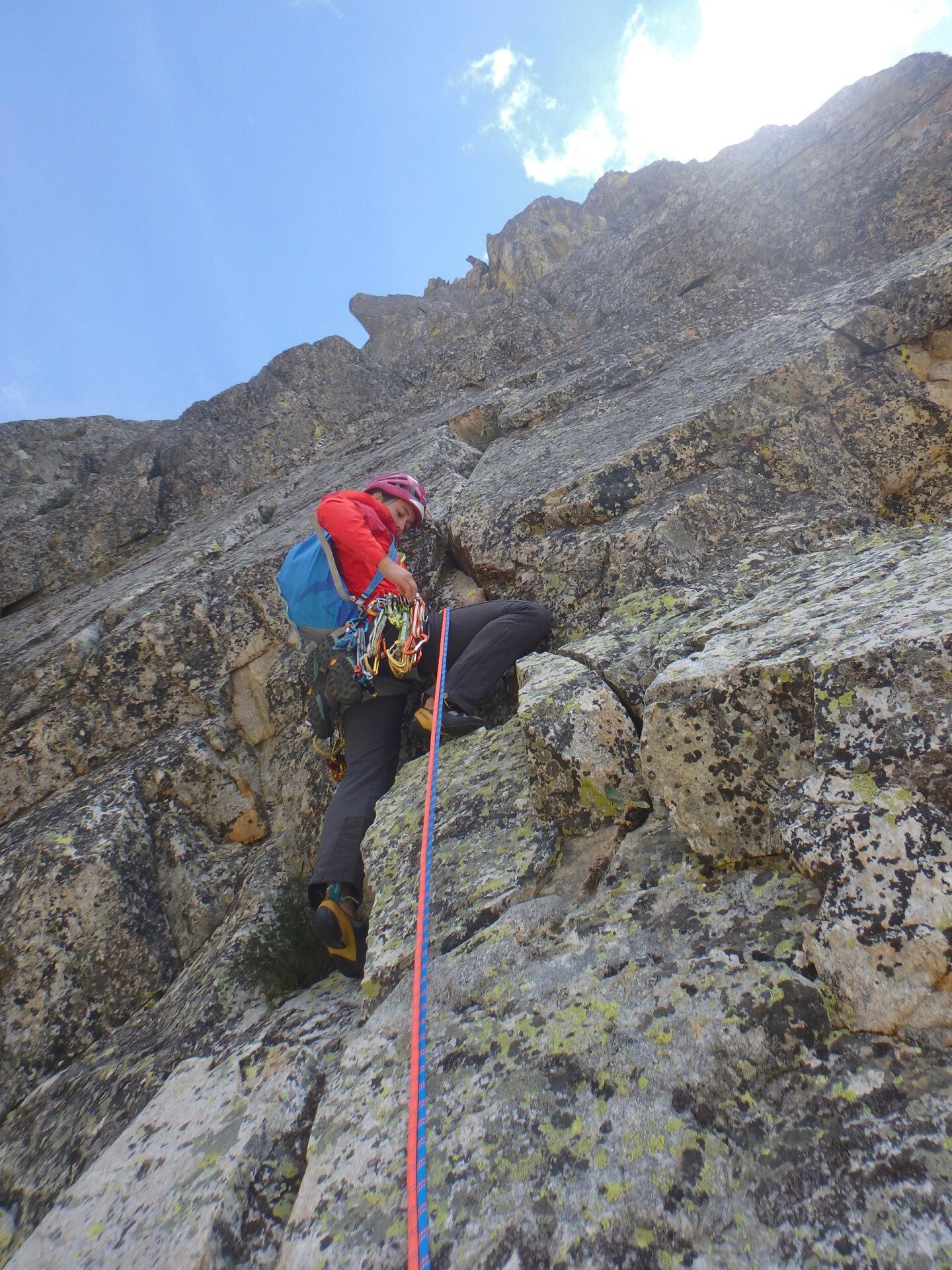 Val Gesso chapitre 1 : Eperon W au Cayre des Erps P8180414