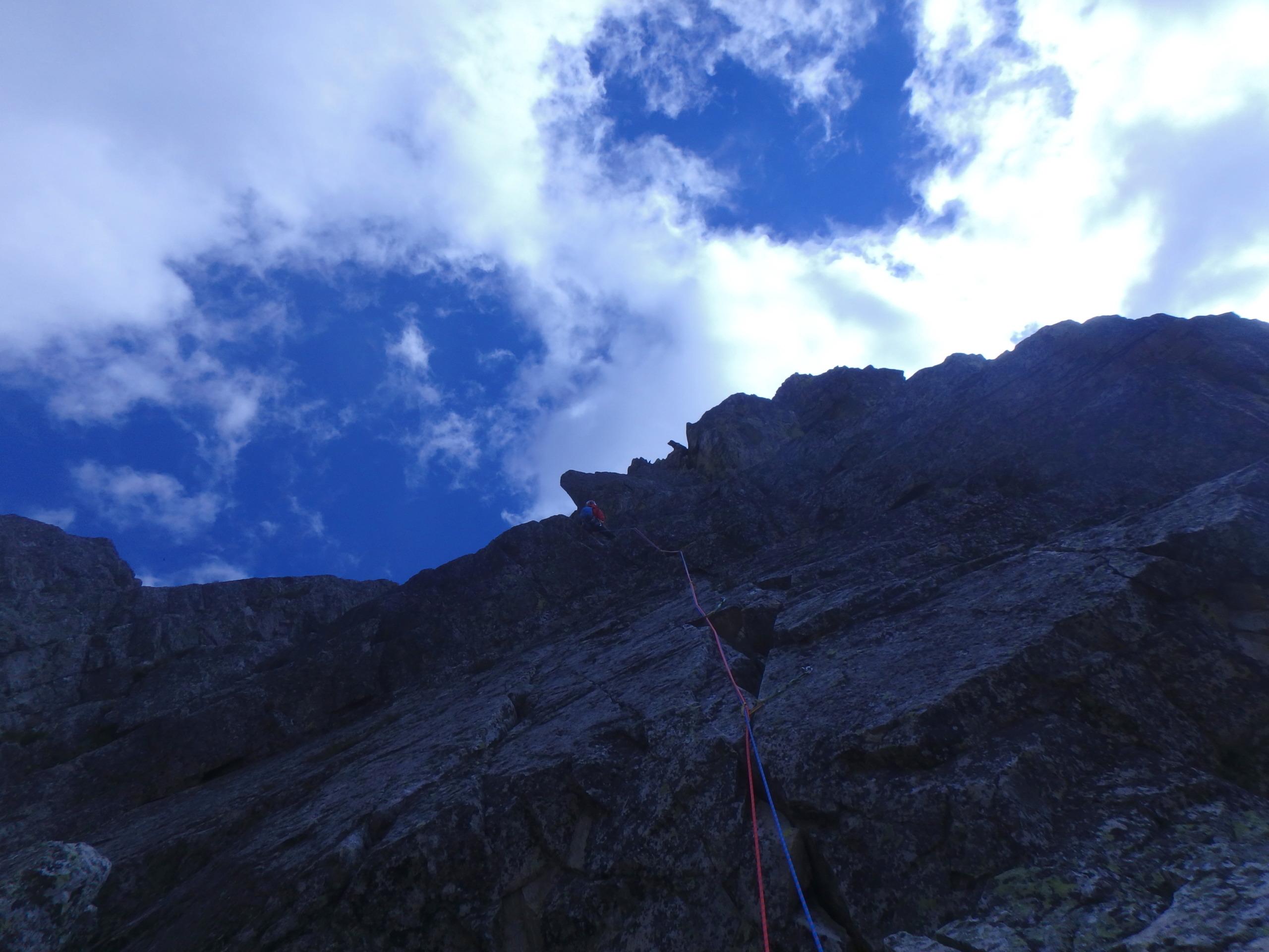 Val Gesso chapitre 1 : Eperon W au Cayre des Erps P8180415