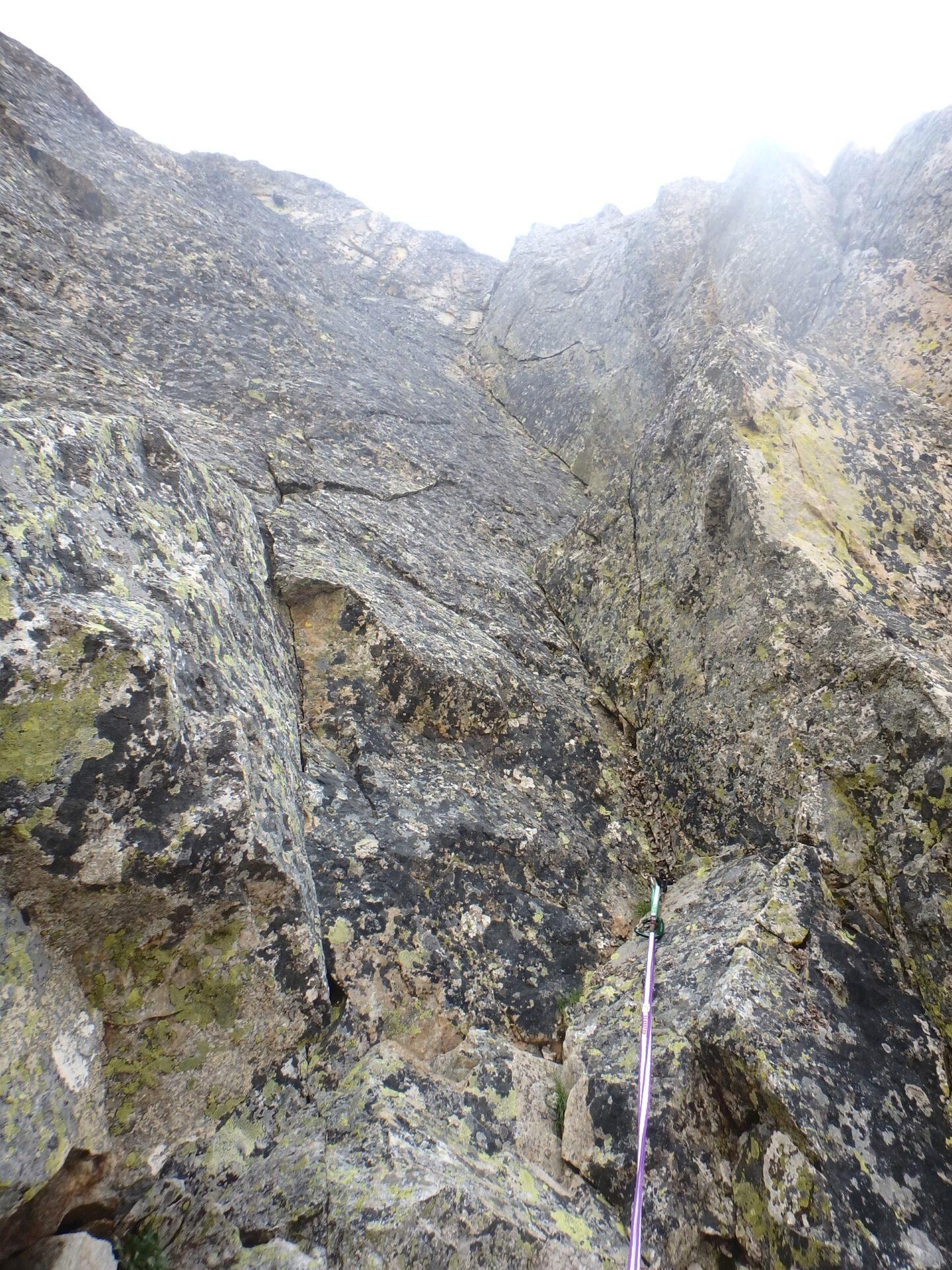 Val Gesso chapitre 1 : Eperon W au Cayre des Erps P8180416