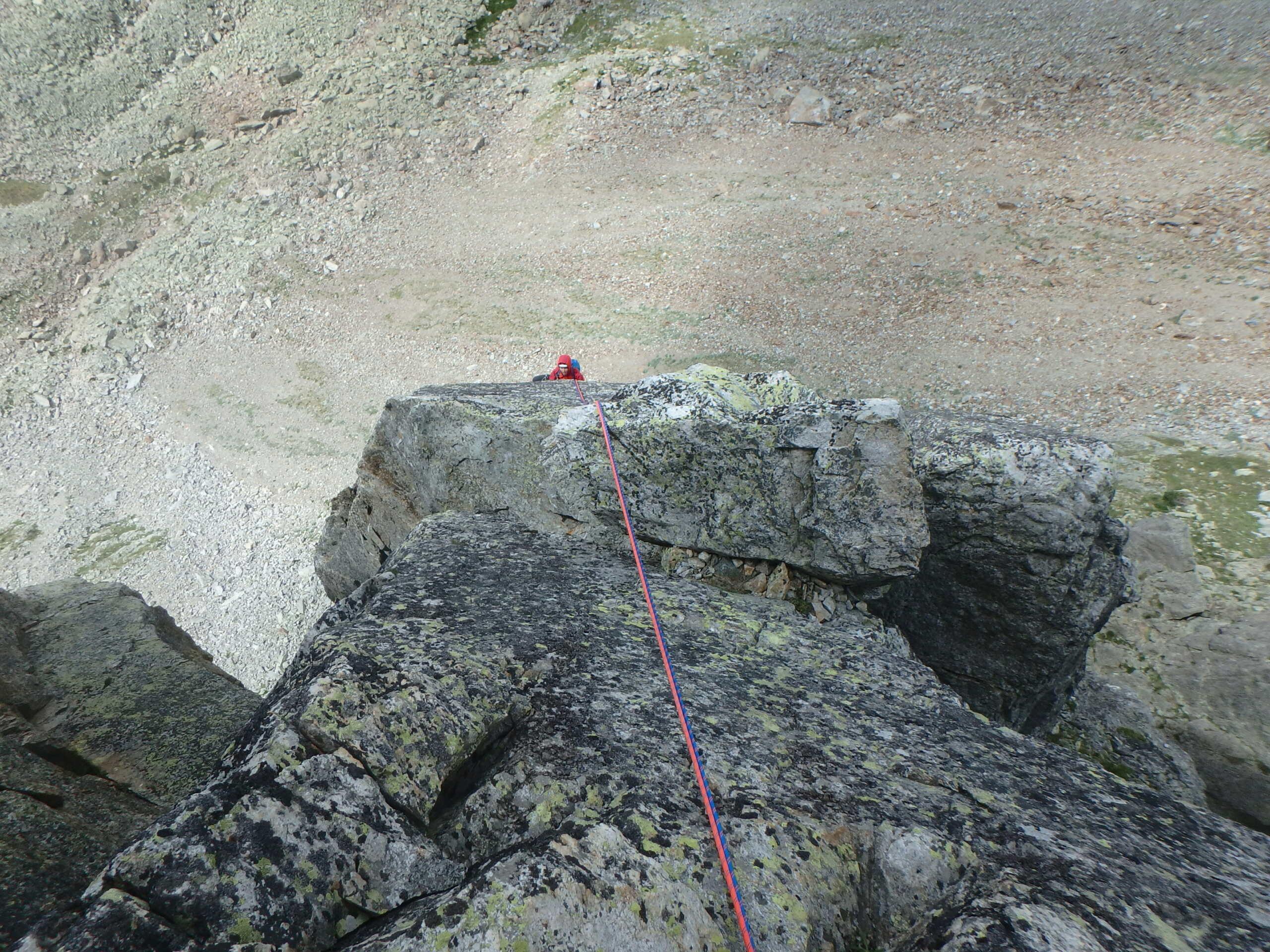 Val Gesso chapitre 1 : Eperon W au Cayre des Erps P8180417