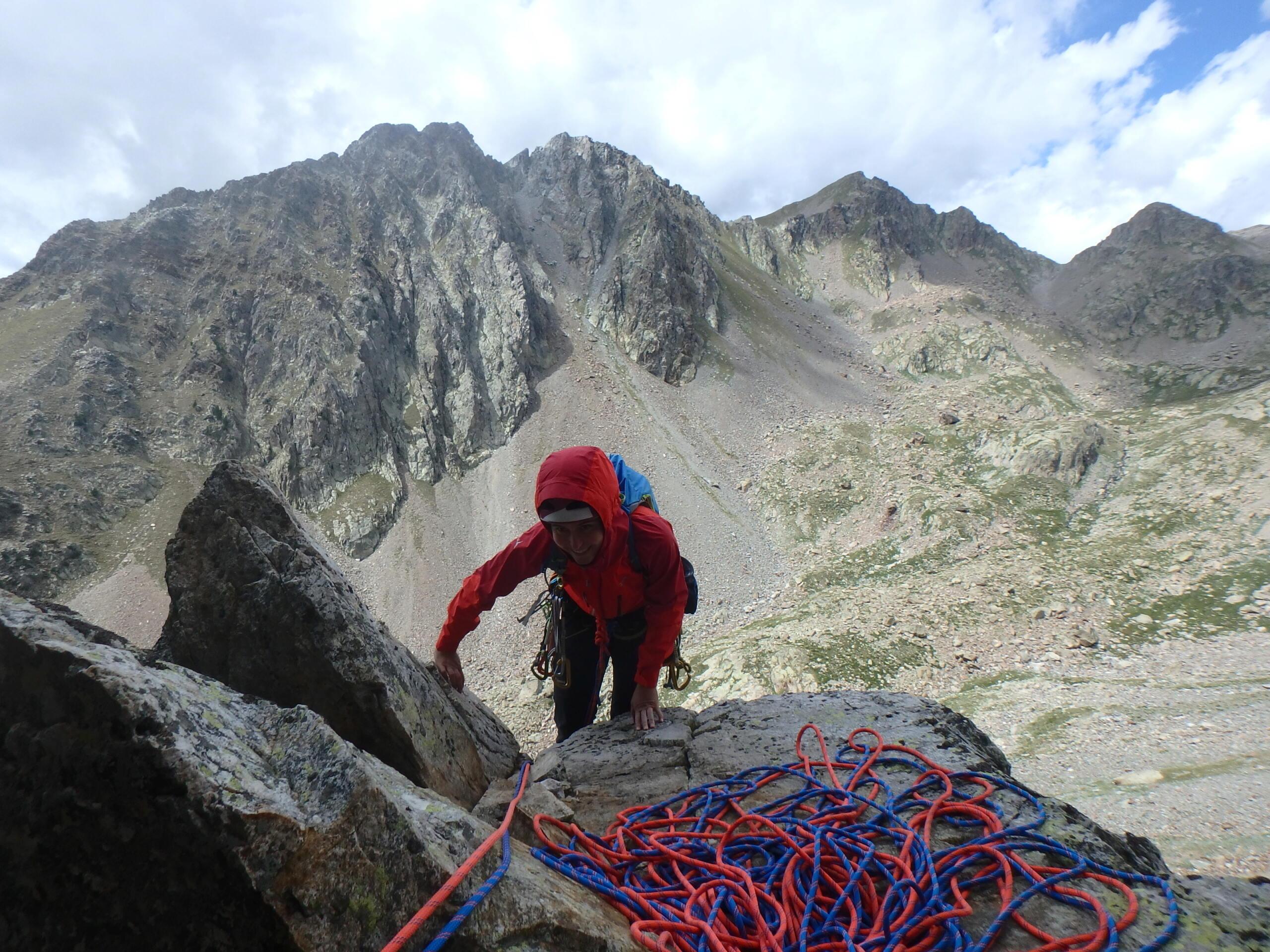 Val Gesso chapitre 1 : Eperon W au Cayre des Erps P8180419