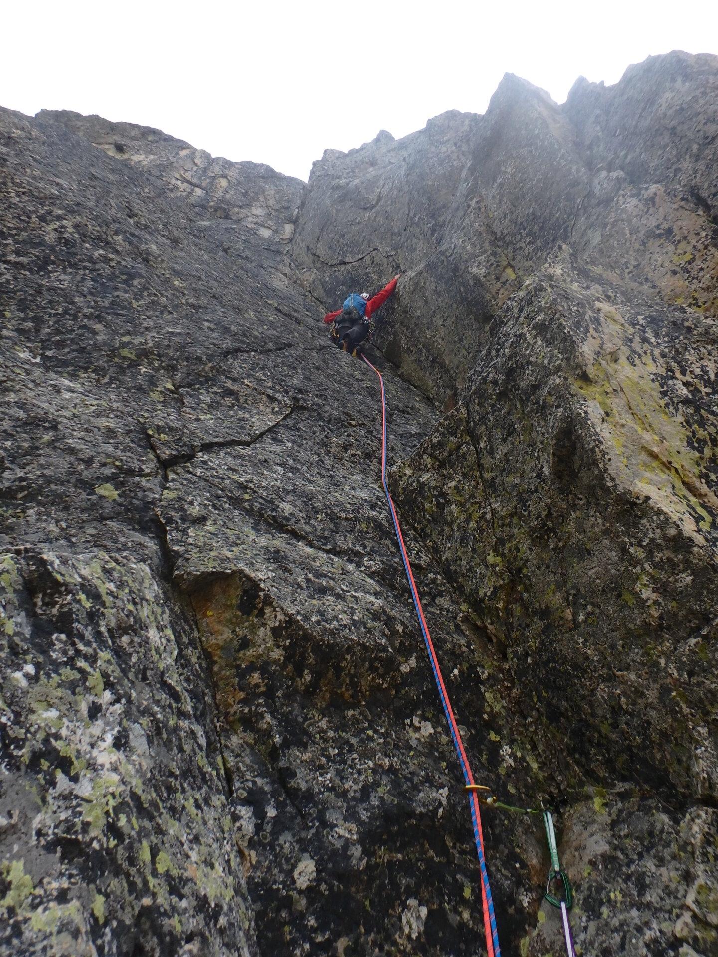 Val Gesso chapitre 1 : Eperon W au Cayre des Erps P8180420