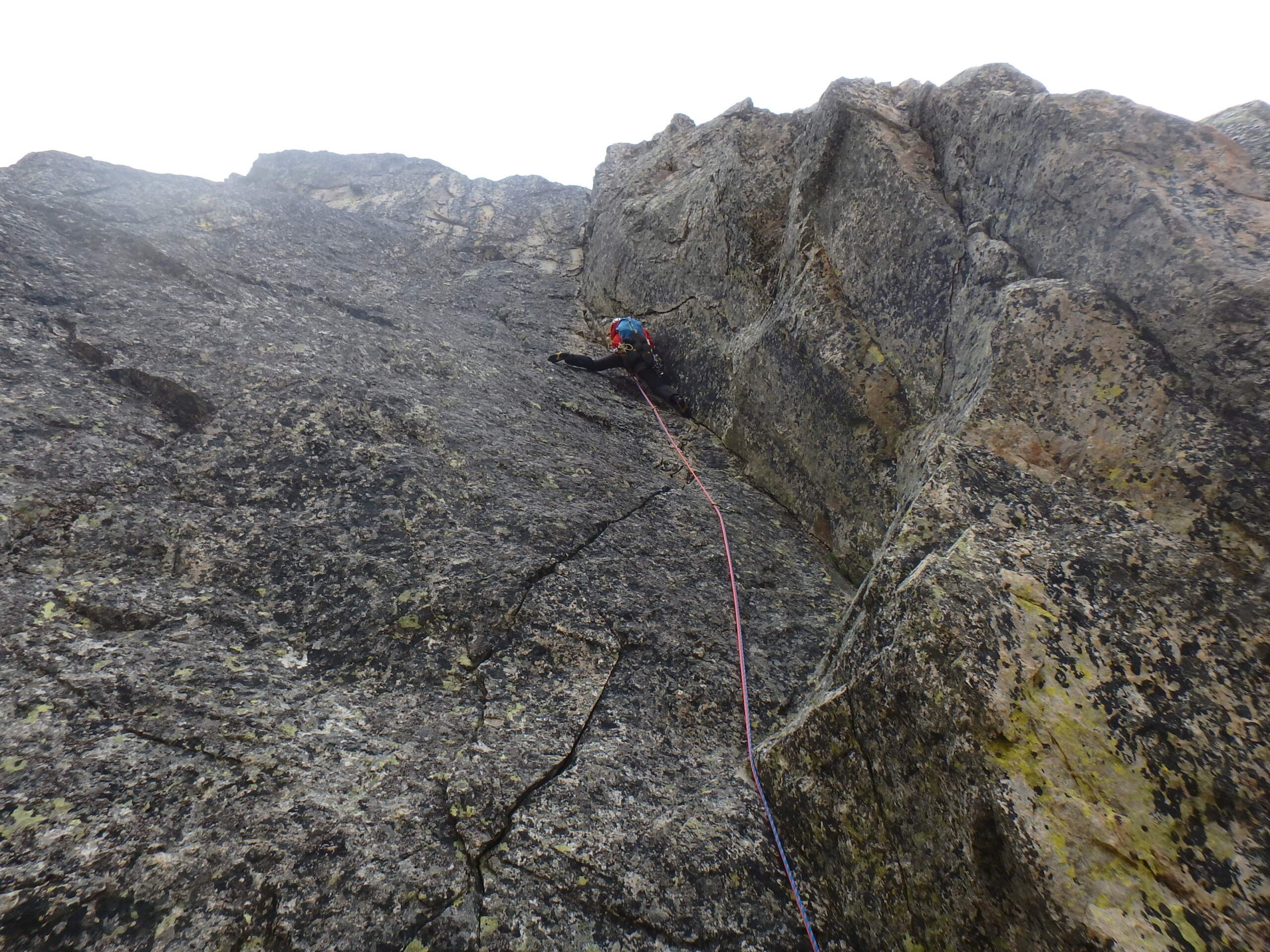 Val Gesso chapitre 1 : Eperon W au Cayre des Erps P8180421