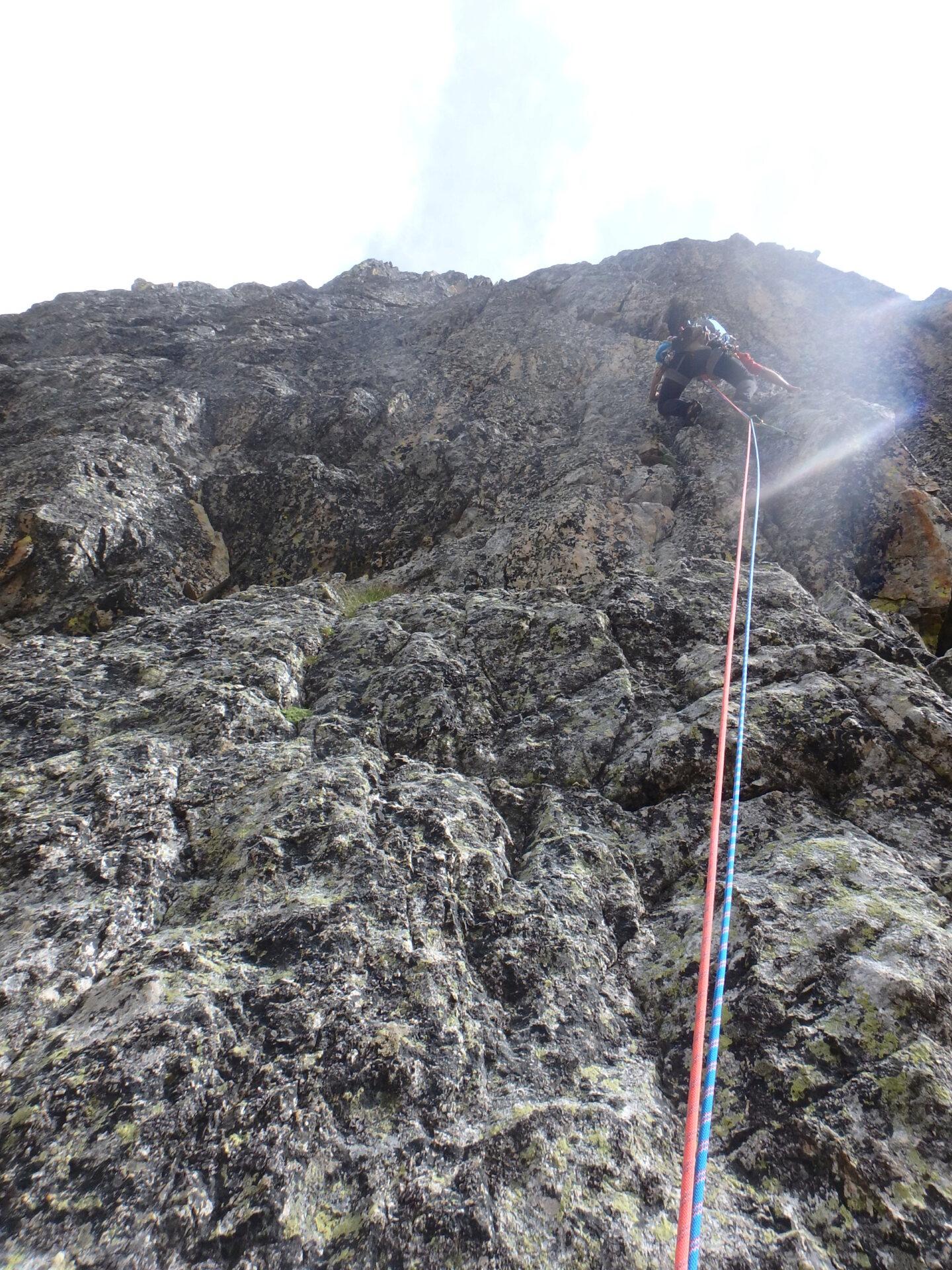 Val Gesso chapitre 1 : Eperon W au Cayre des Erps P8180422