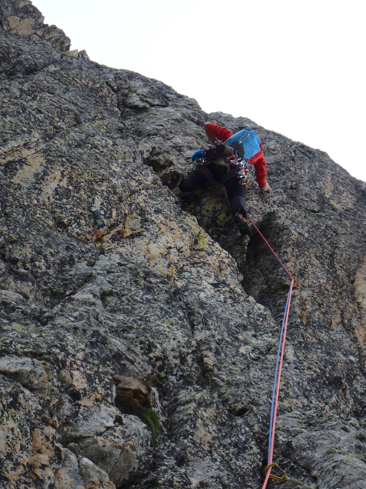 Val Gesso chapitre 1 : Eperon W au Cayre des Erps P8180423