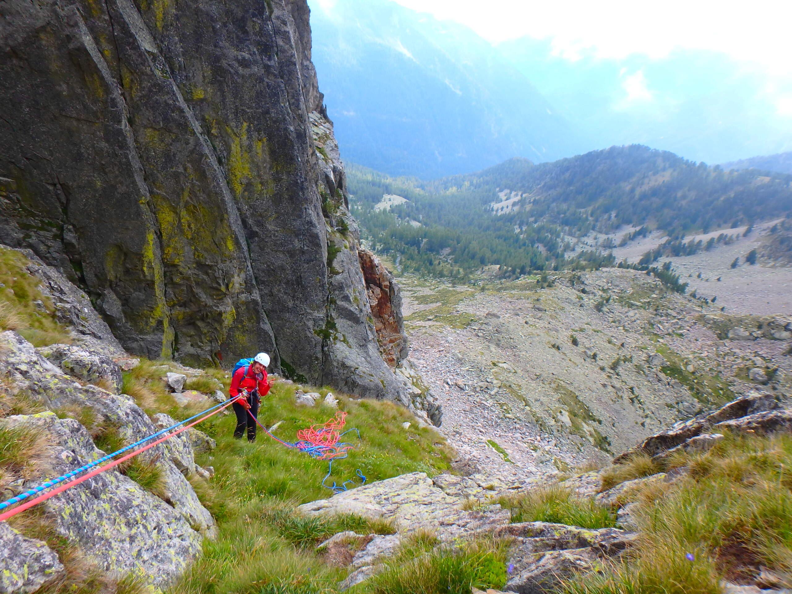 Val Gesso chapitre 1 : Eperon W au Cayre des Erps P8180424