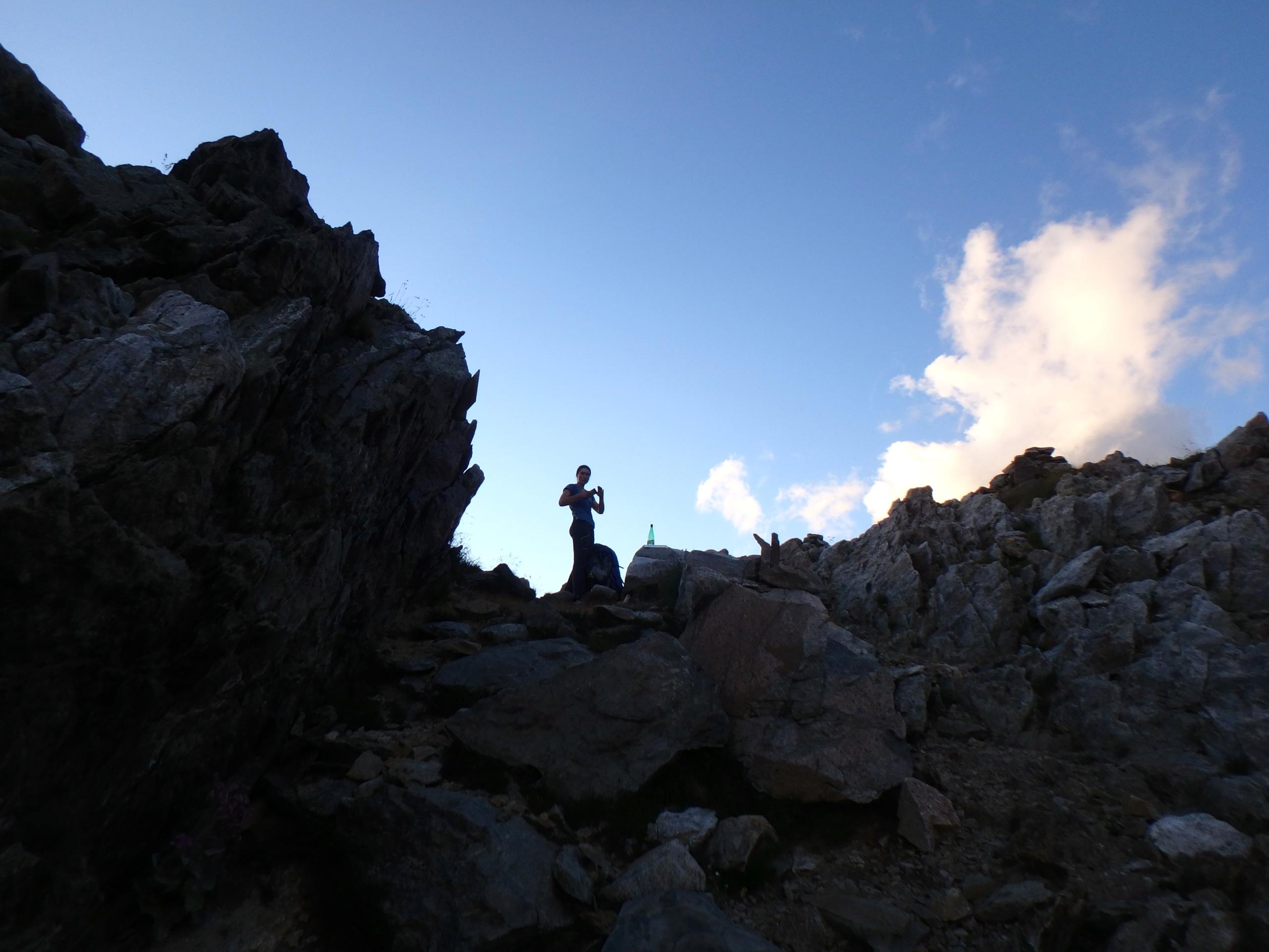Val Gesso chapitre 1 : Eperon W au Cayre des Erps P8180425