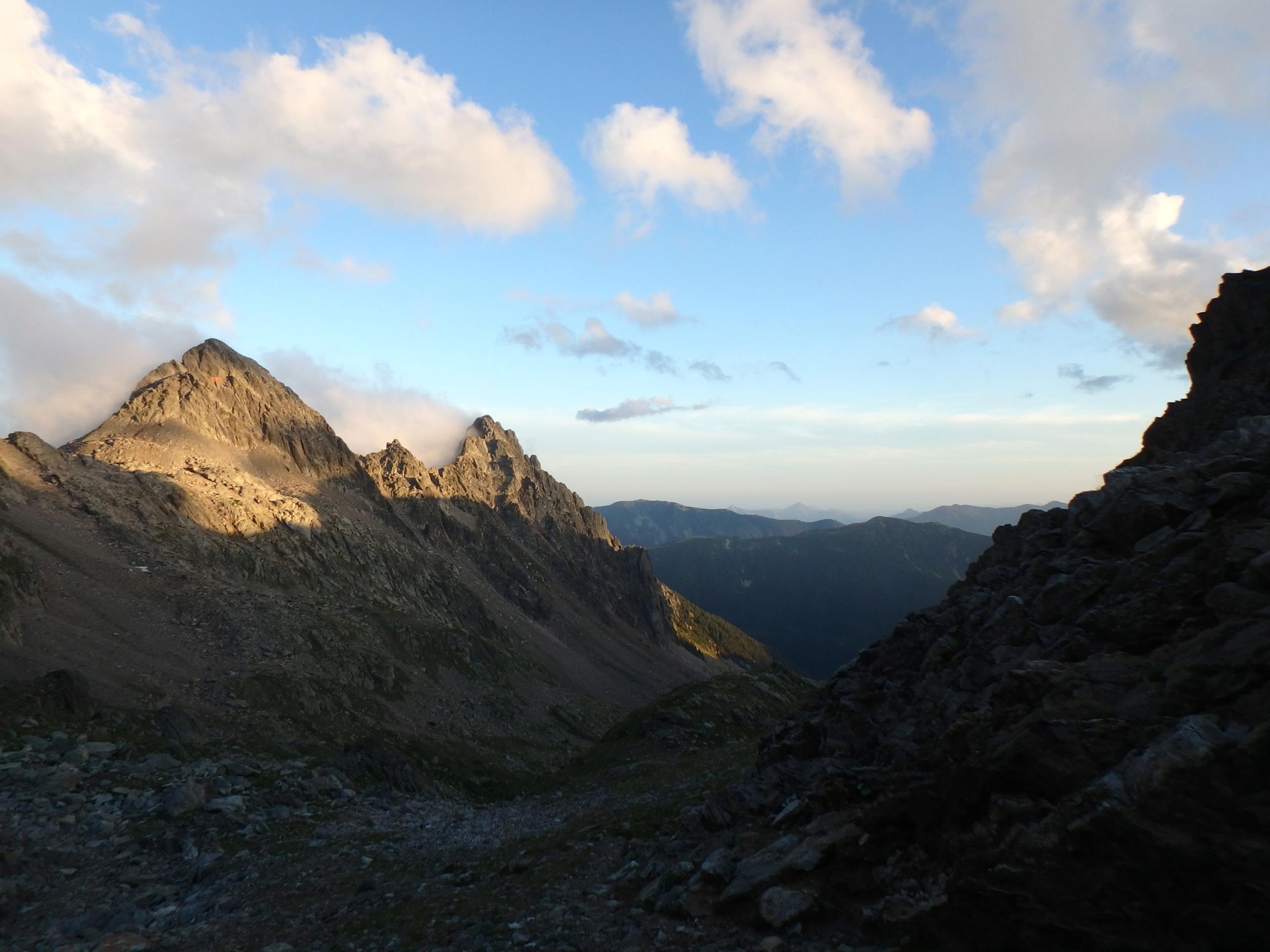 Val Gesso chapitre 1 : Eperon W au Cayre des Erps P8180426