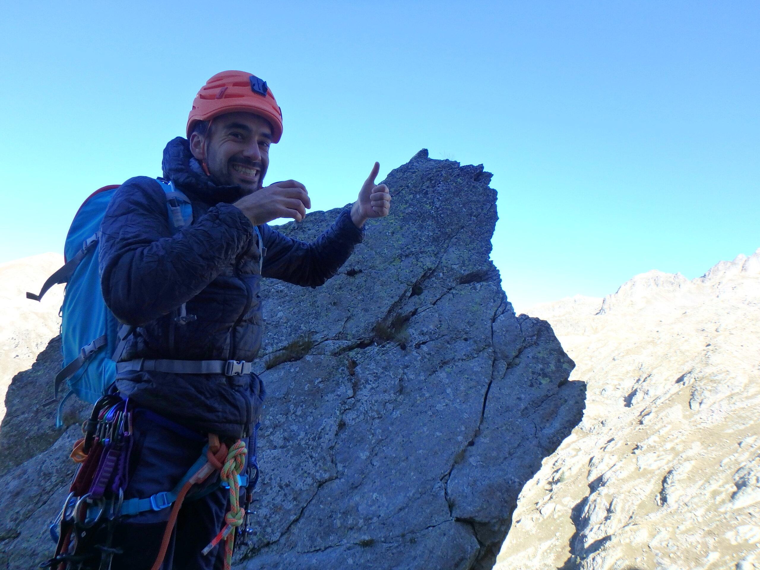 Une arrête de la fraicheur, au Grand Cayre de la Madone  P9260623