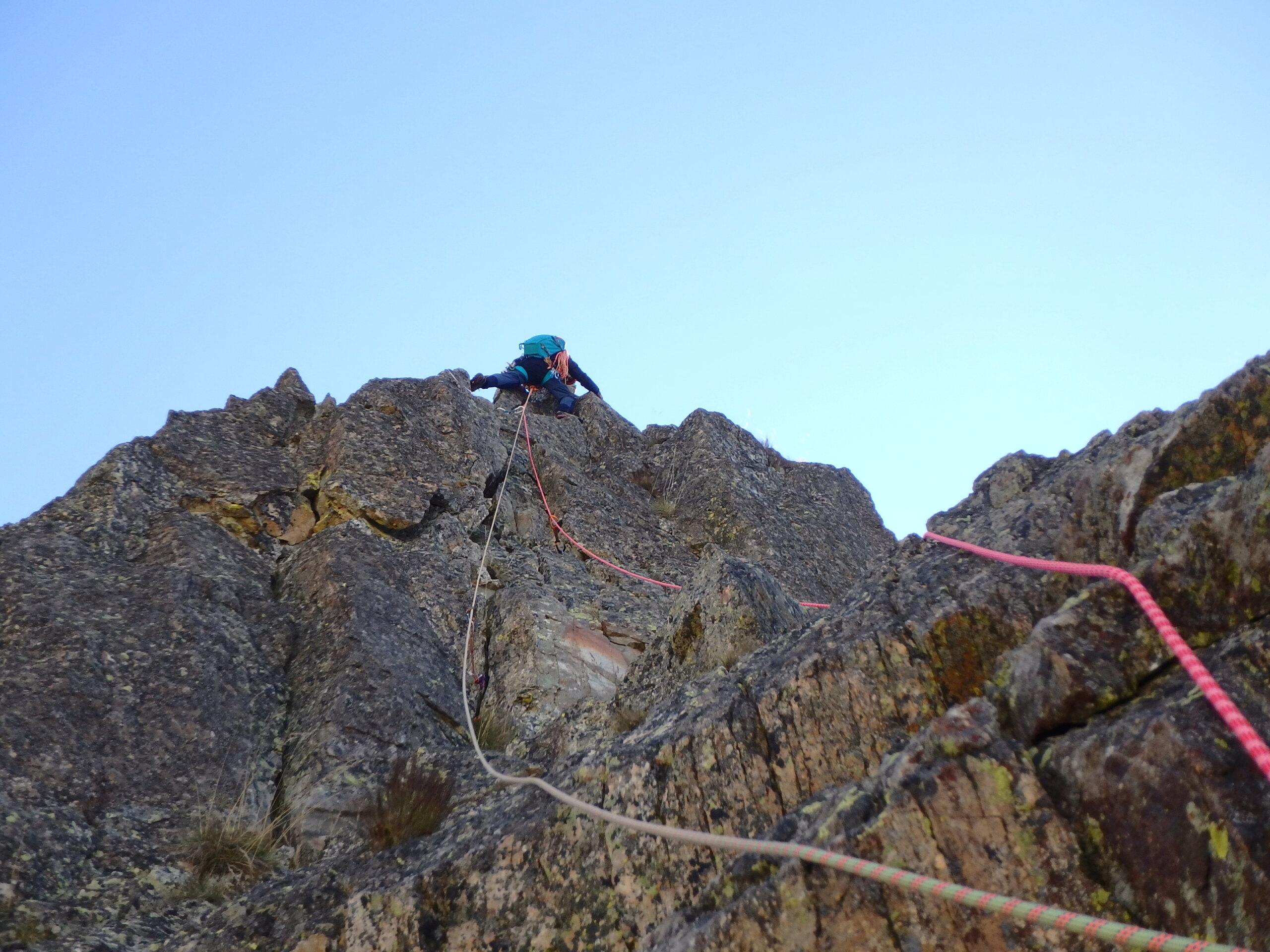 Une arrête de la fraicheur, au Grand Cayre de la Madone  P9260627