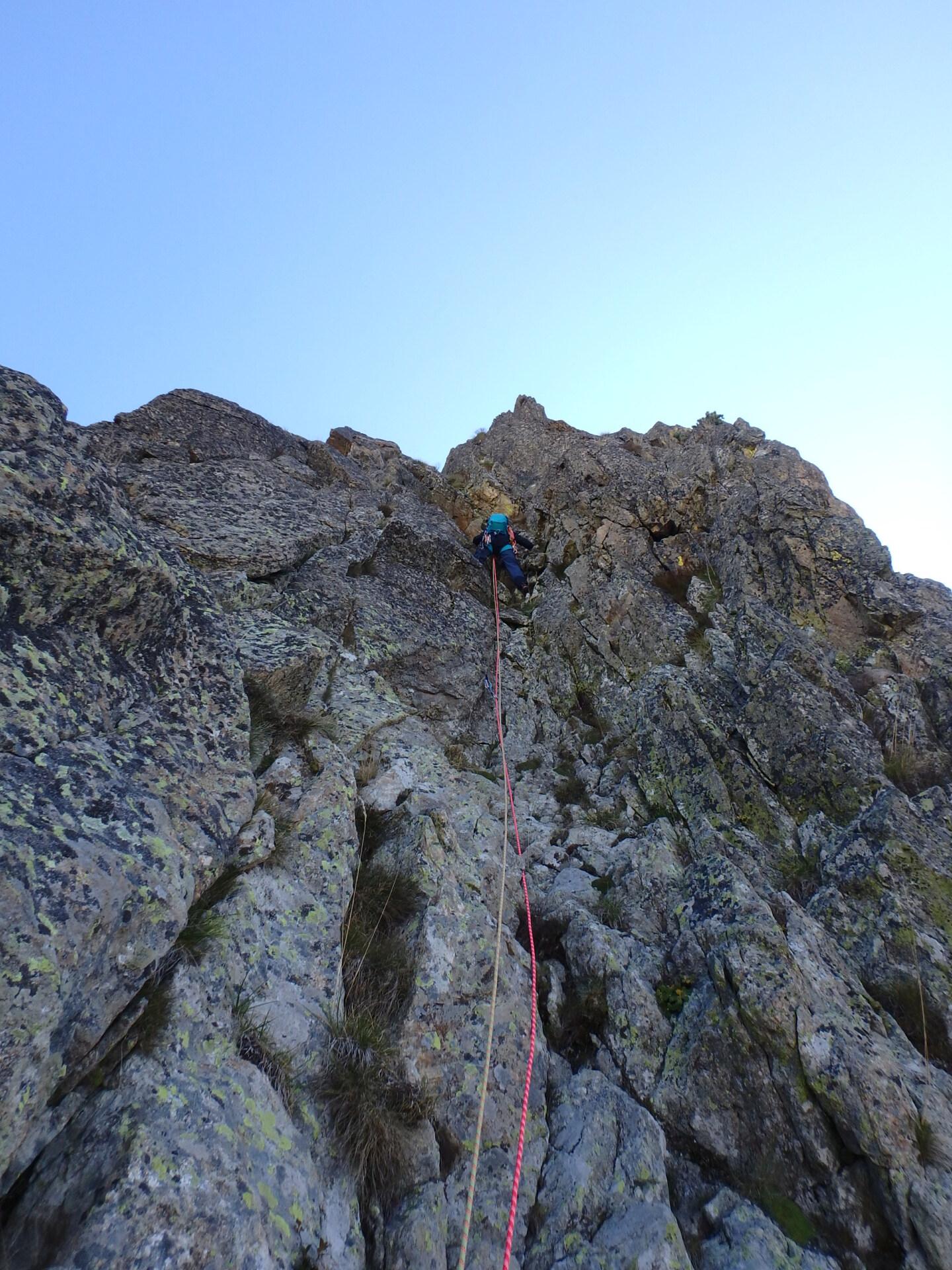 Une arrête de la fraicheur, au Grand Cayre de la Madone  P9260628