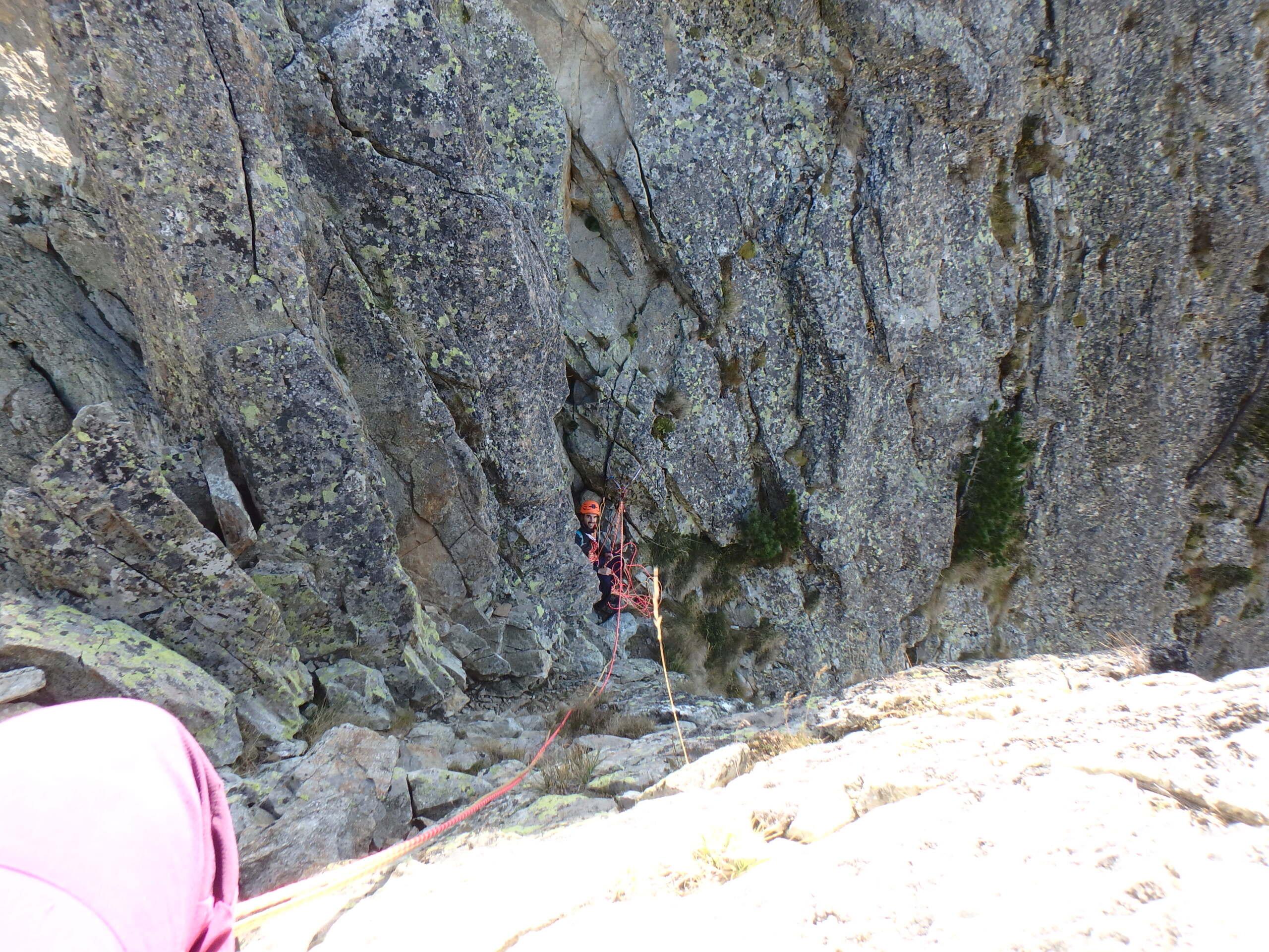 Une arrête de la fraicheur, au Grand Cayre de la Madone  P9260629