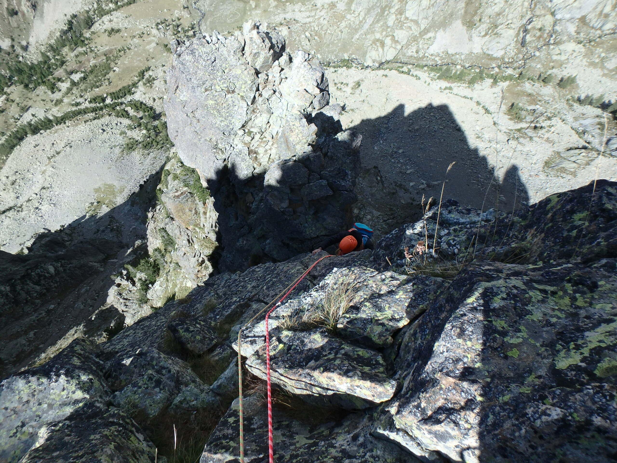 Une arrête de la fraicheur, au Grand Cayre de la Madone  P9260633