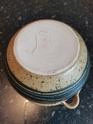 Stoneware pot, with initials 'FNG NZ'. 46b5d410