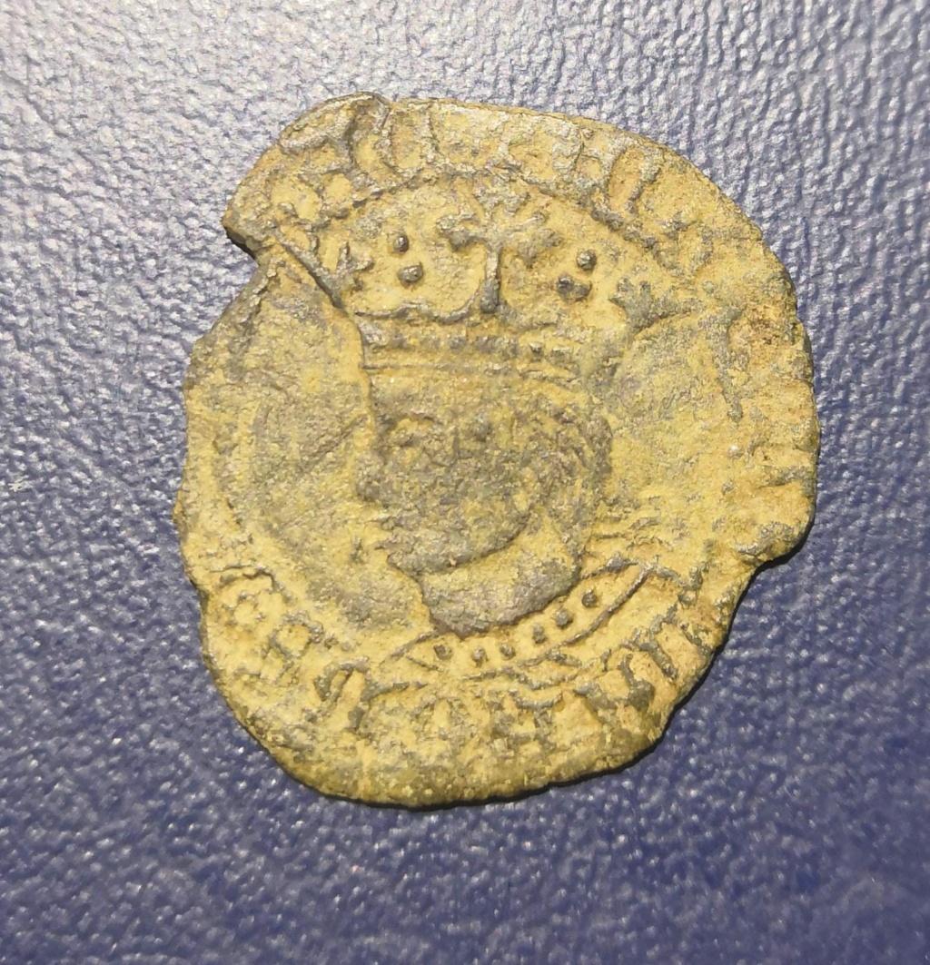 Dinero de Enrique IV. Toledo Whats105