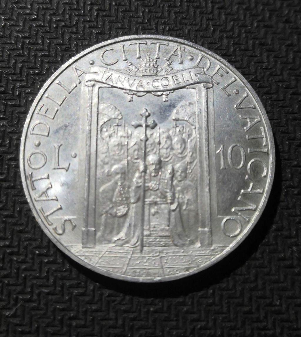 10 Liras del Vaticano de 1950. Opinión Whatsa42
