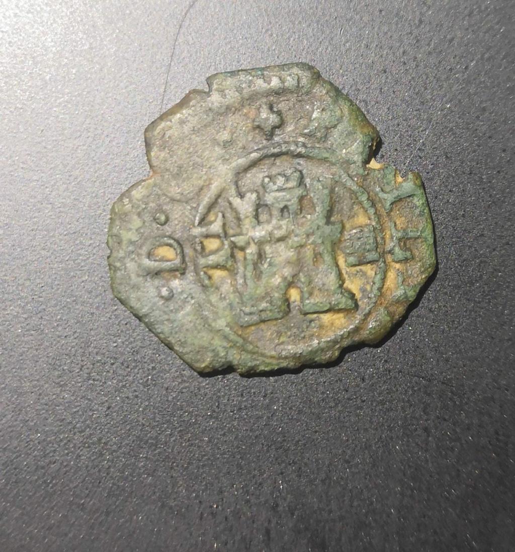 2 Maravedíes de Felipe III de Segovia a martillo, 1602/3. Whatsa67