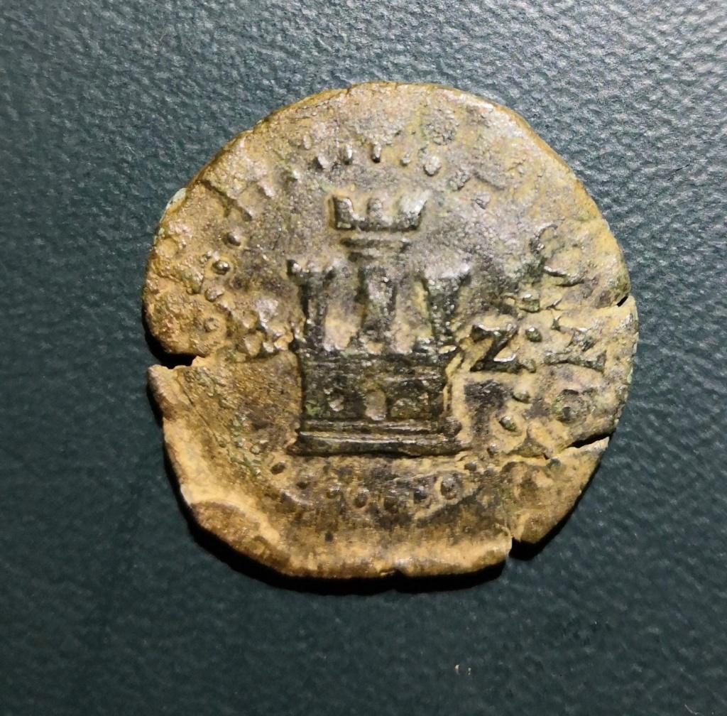 2 maravedís de Felipe II de Burgos con 2 leones Whatsa77