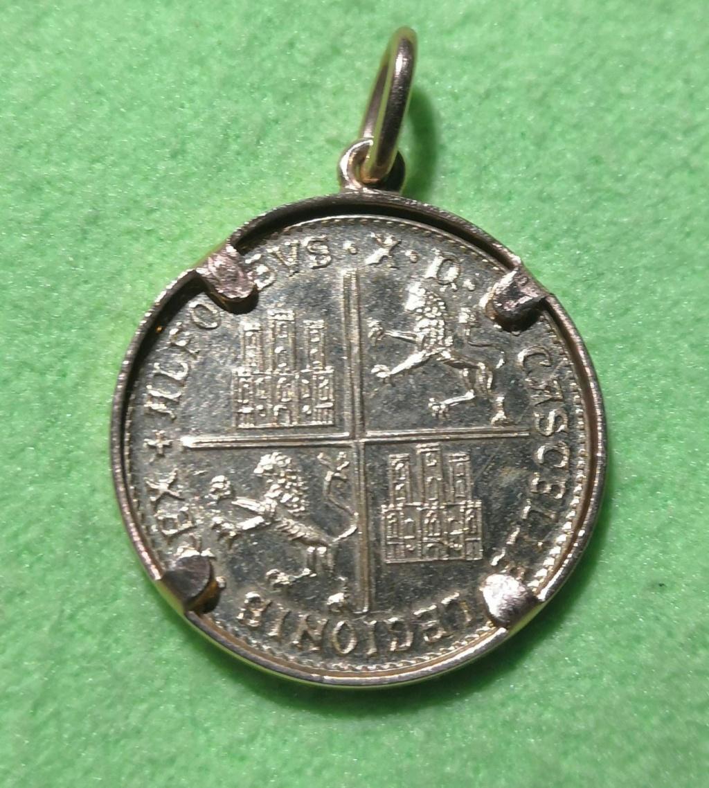 Moneda conmemorativa Alfonso X  Whatsa92