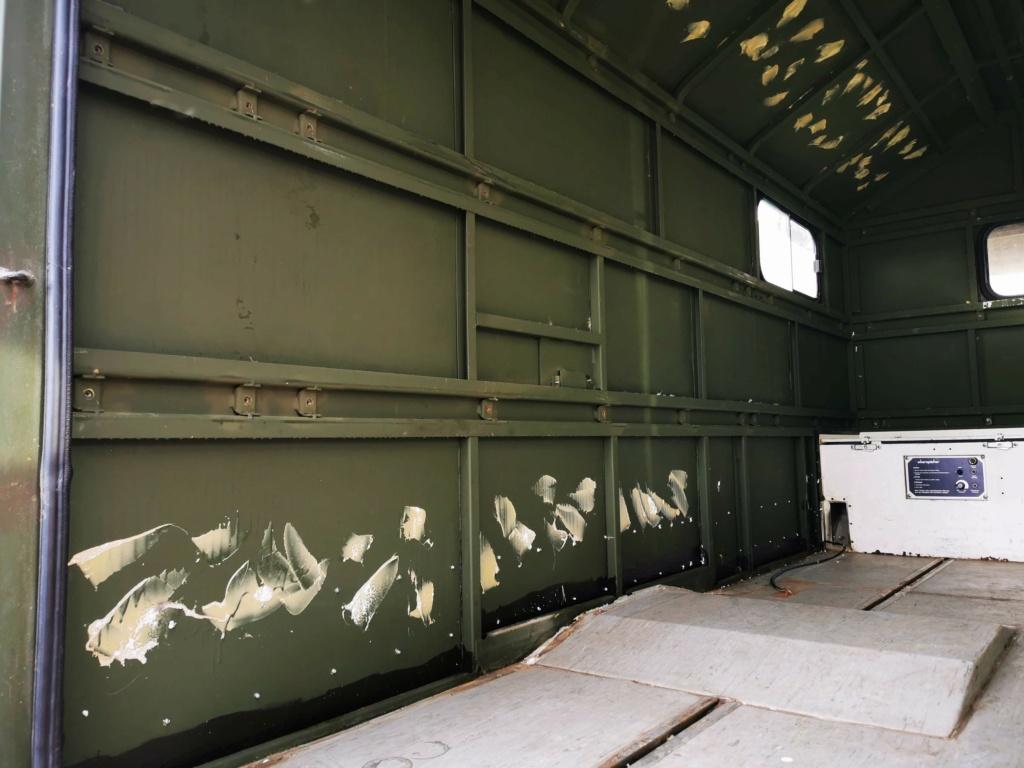 "Restauration d'un U1300 435 AC Ambulance... vers un Campervan ""grand froid"" Img_2032"