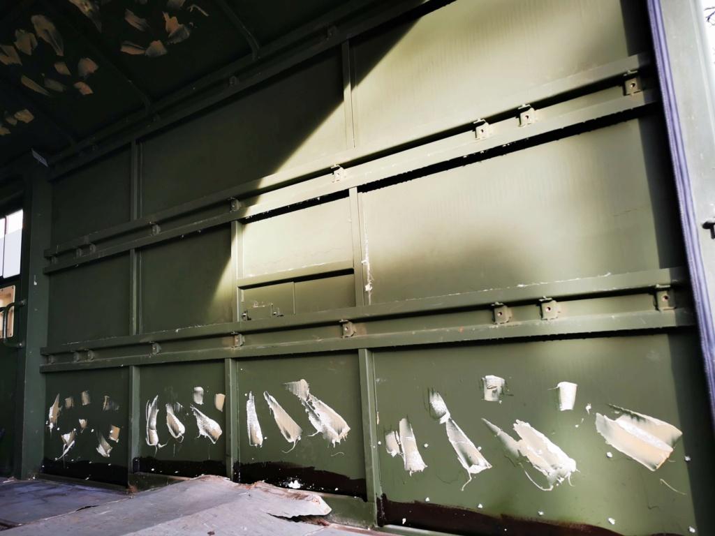 "Restauration d'un U1300 435 AC Ambulance... vers un Campervan ""grand froid"" Img_2033"