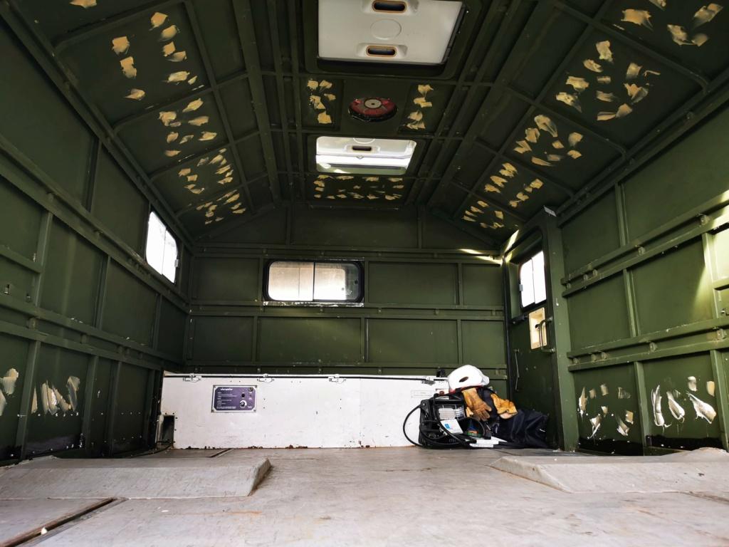 "Restauration d'un U1300 435 AC Ambulance... vers un Campervan ""grand froid"" Img_2034"