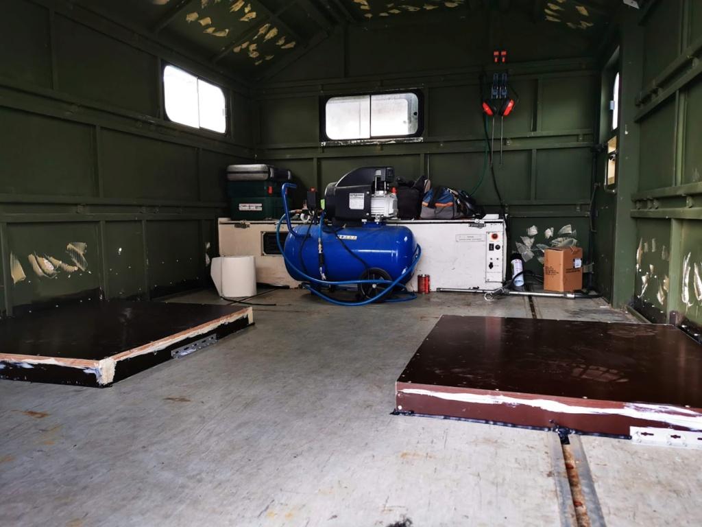 "Restauration d'un U1300 435 AC Ambulance... vers un Campervan ""grand froid"" Img_2043"
