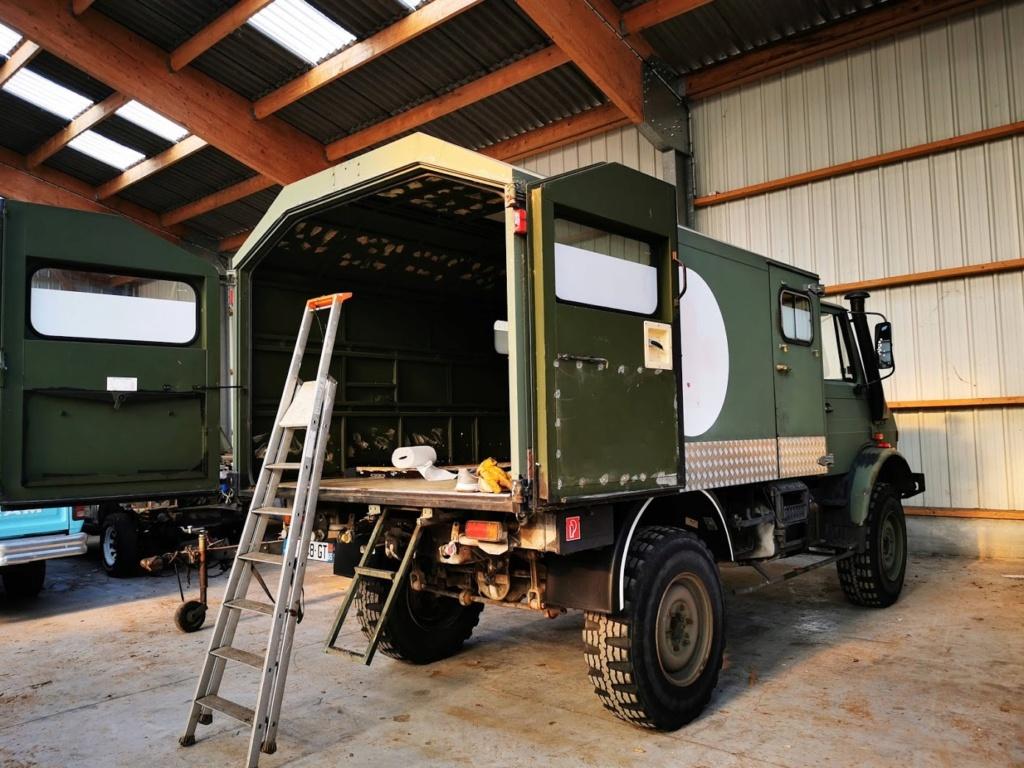 "Restauration d'un U1300 435 AC Ambulance... vers un Campervan ""grand froid"" Img_2045"