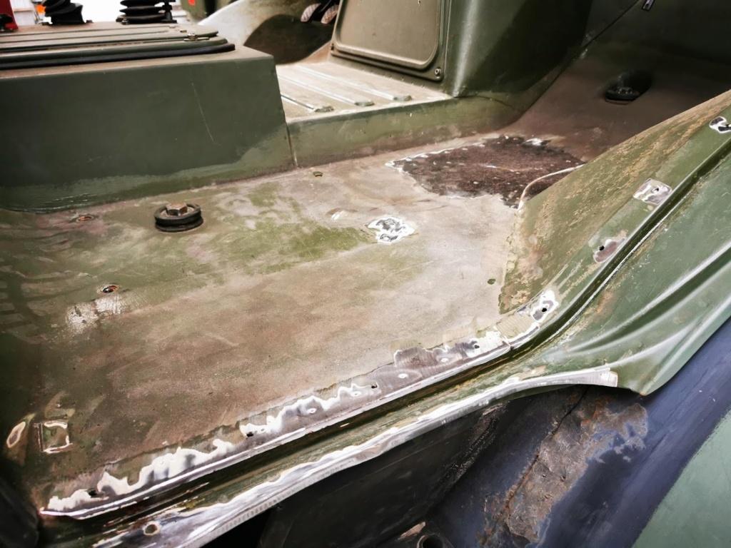 "Restauration d'un U1300 435 AC Ambulance... vers un Campervan ""grand froid"" Img_2053"