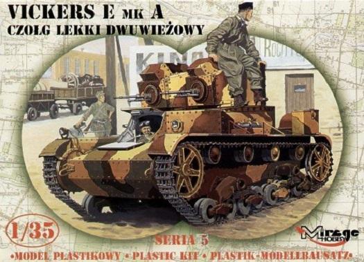 [Mirage Hobby] Vickers E Mk A 1/35 10691911