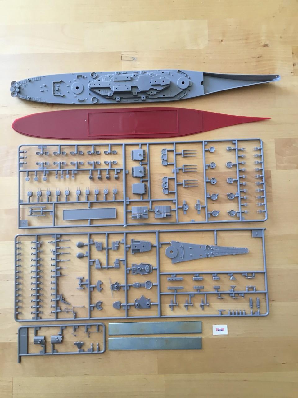 [Fujimi] USS Iowa 1/700 Img_1434