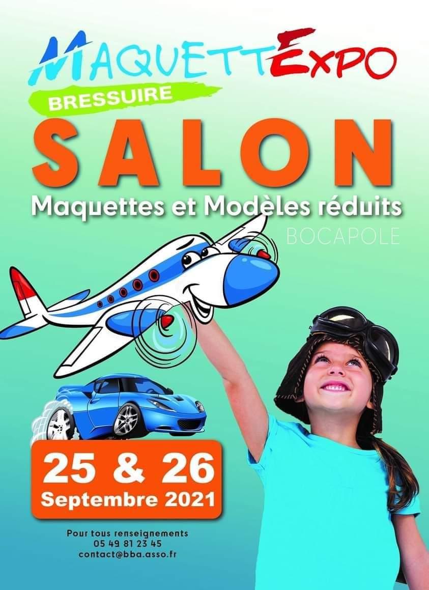 Salon Maquettes et Modèles réduits à Bressuire 19045210