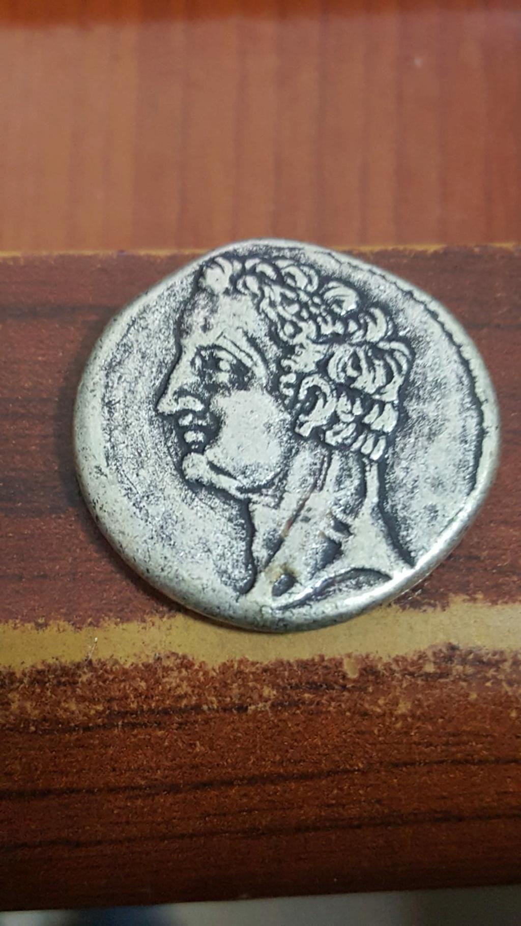 Reproducción de un shekel hispano-cartaginés Whatsa14