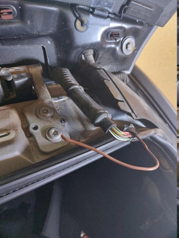 [ BMW E46 Touring 316i N46 an 2005 ] Essuie glace arrière et liquide inopérant  20210711