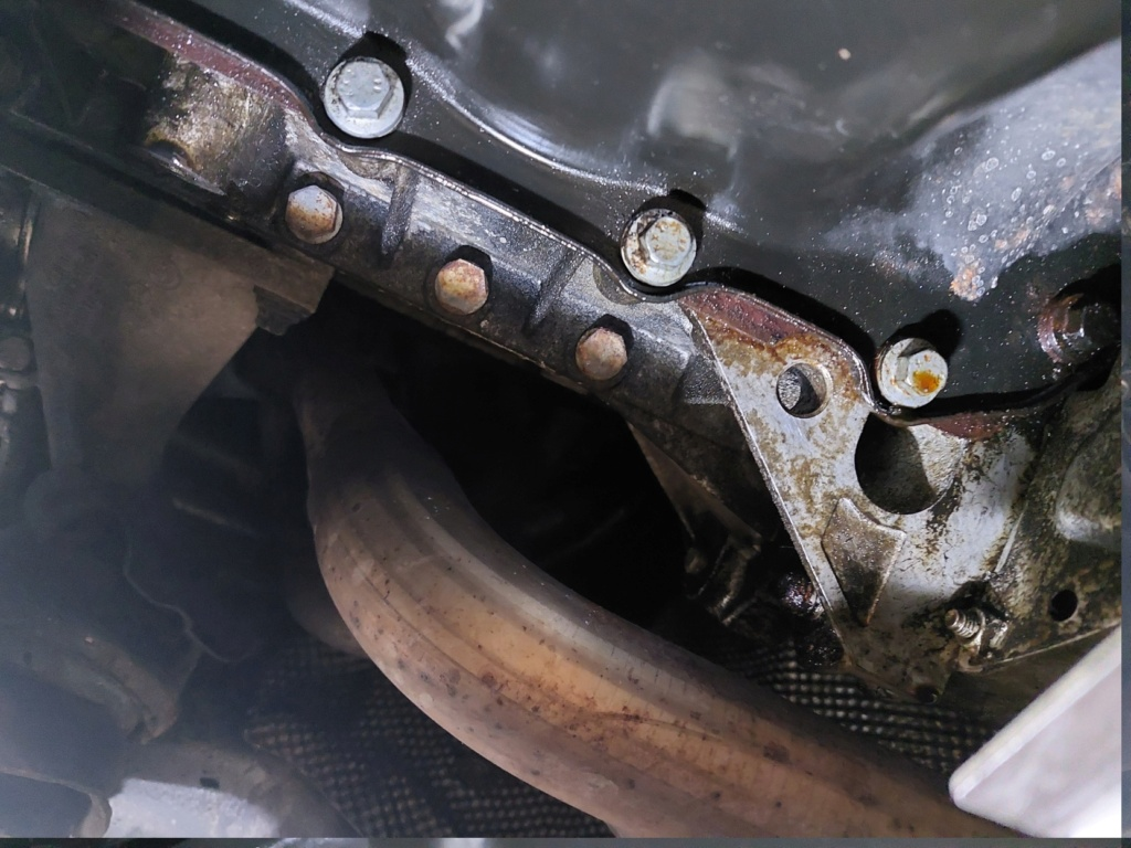 [ BMW E46 316i N46 an 2005 ] Fuite joint carter d'huile ? 20210715